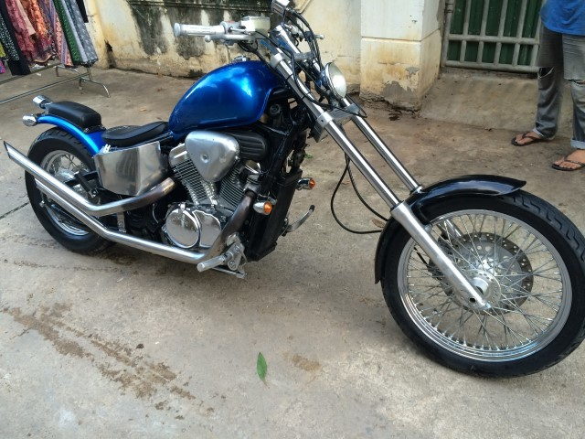 Honda Vlx 400 Steed Chopper  U2013 1997