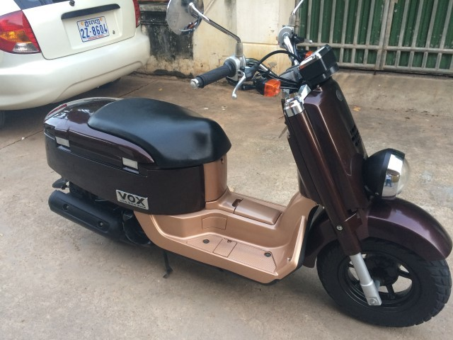 Yamaha Vox Xf 50  U2013 2009